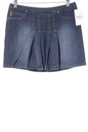Miss Sixty Jeansrock dunkelblau Jeans-Optik