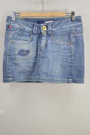 Miss Sixty Jeansrock Minirock blau Größe M
