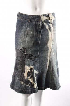 Miss Sixty jeans skirt with application