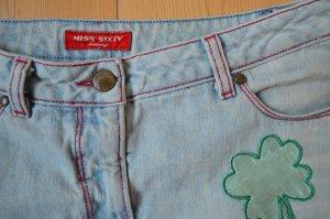 Miss Sixty Jeansrock mit kleinen Applikationen