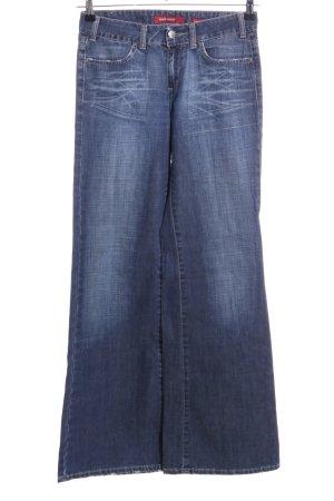 Miss Sixty Jeans a zampa d'elefante blu stile casual