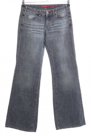 Miss Sixty Jeansschlaghose hellgrau Casual-Look