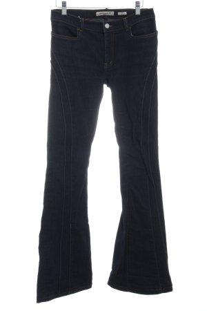 Miss Sixty Jeans flare bleu foncé style décontracté