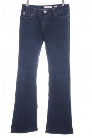 Miss Sixty Jeans a zampa d'elefante blu scuro stile casual