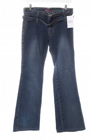 Miss Sixty Jeansschlaghose dunkelblau Casual-Look