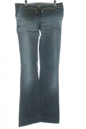 Miss Sixty Denim Flares slate-gray-pale blue casual look