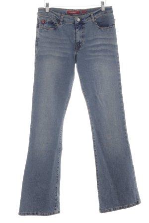Miss Sixty Jeans a zampa d'elefante blu fiordaliso stile casual