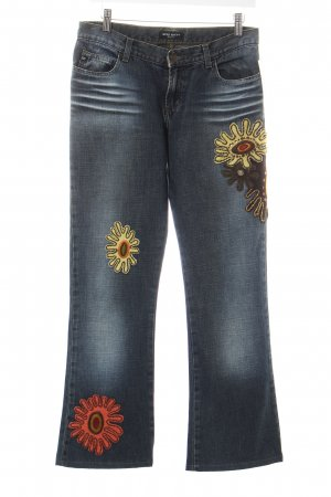 Miss Sixty Jeansschlaghose mehrfarbig Hippie-Look