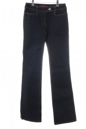 Miss Sixty Jeans a zampa d'elefante nero stile casual