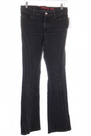 Miss Sixty Jeansschlaghose schwarz Country-Look