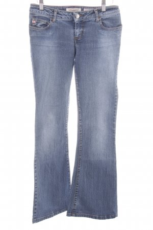 Miss Sixty Jeansschlaghose stahlblau-himmelblau Casual-Look