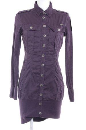 Miss Sixty Jerseykleid dunkelviolett Casual-Look