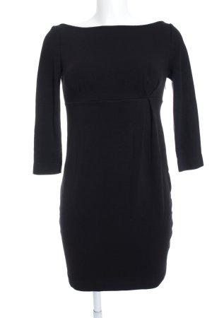 Miss Sixty Jerseykleid schwarz schlichter Stil