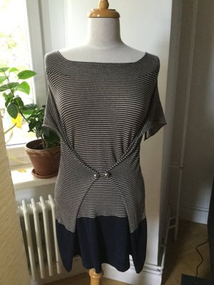Miss Sixty Vestido de lana multicolor tejido mezclado