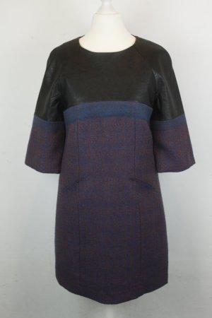 Miss Sixty Kleid Etuikleid Gr. XS blau schwarz
