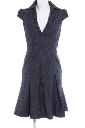 Miss Sixty Kurzarmkleid dunkelblau Casual-Look