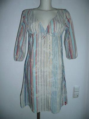 Miss Sixty lässiges Tunika Kleid gestreift im Used Look Gr M 36