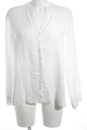 Miss Sixty Langarm-Bluse weiß Casual-Look