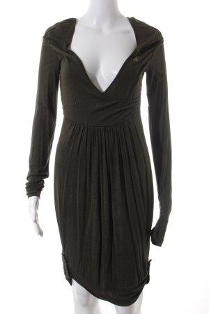Miss Sixty Langarmkleid khaki Elegant
