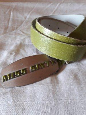 Miss Sixty Cinturón verde pálido-verde hierba