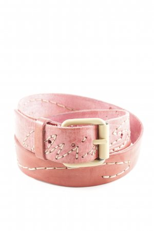 Miss Sixty Leather Belt bright red Gypsy style