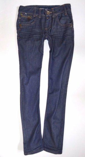 Miss Sixty Low Rise Jeans blue cotton