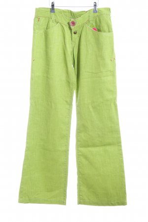 Miss Sixty Marlene Trousers green casual look