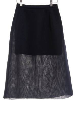 Miss Sixty Midirock dunkelblau Street-Fashion-Look