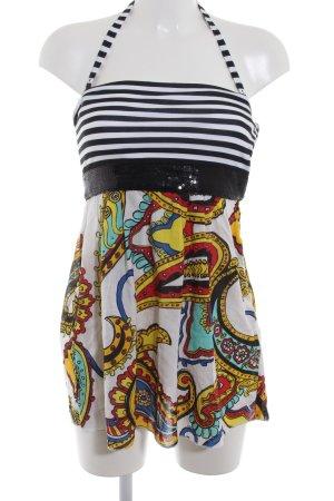 Miss Sixty Minikleid abstraktes Muster extravaganter Stil