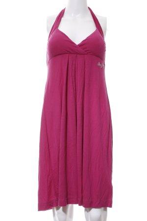 Miss Sixty Vestido de cuello Halter rosa look casual