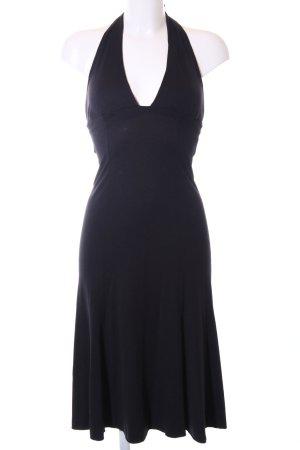 Miss Sixty Vestido de cuello Halter negro look casual