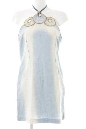 Miss Sixty Halter Top azure-cream casual look