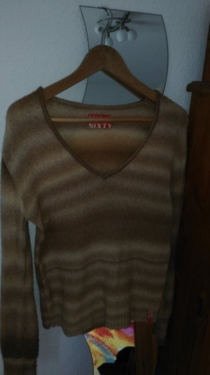 Miss Sixty Pullover in beige. iin Größe M.