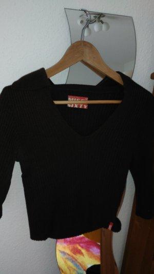 Miss Sixty Pullover in Braun. in Größe S