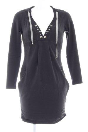 Miss Sixty Pulloverkleid schwarz Casual-Look