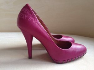 MISS SIXTY Pumps Leder pink Gr. 39