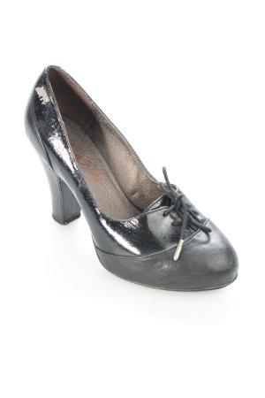 Miss Sixty Pumps schwarz 70ies-Stil