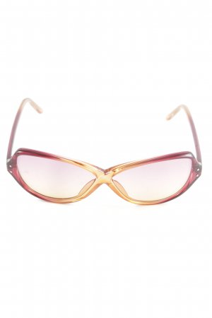 Miss Sixty Retro Glasses red-light orange color gradient casual look