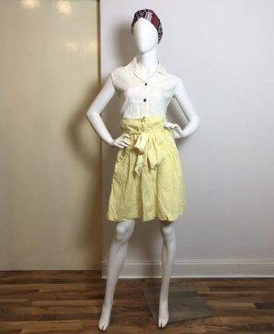Miss Sixty Rock Gelb Retro Paperbag im Vintage Style