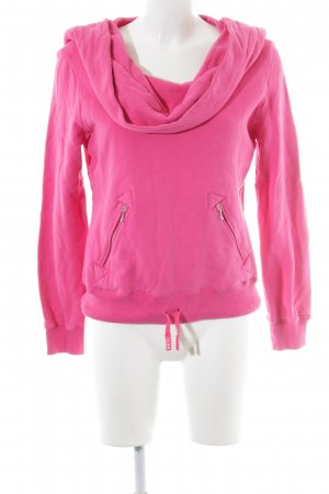 Miss Sixty Turtleneck Sweater magenta casual look