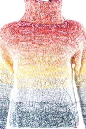 Miss Sixty Rollkragenpullover mit Farbverlauf