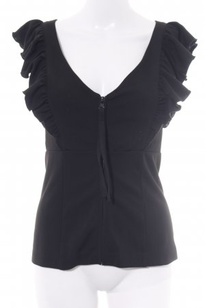 Miss Sixty Frill Top black casual look