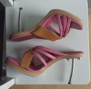 Miss Sixty Platform High-Heeled Sandal multicolored