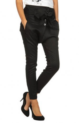 MISS SIXTY Satin Hose Jeans Baggy Pants Haremshose XS – NEU