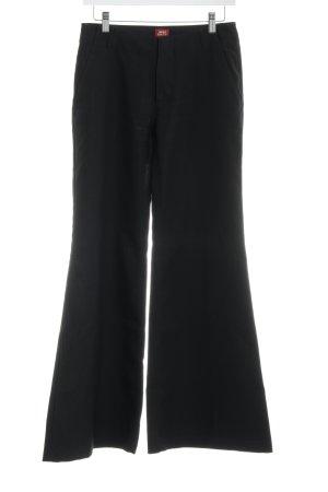 Miss Sixty Pantalón de campana negro Estilo años 70