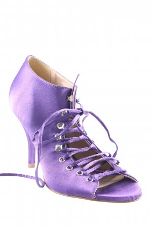 Miss Sixty Lace-up Pumps lilac-cream