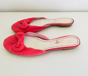 Miss Sixty Ballerines Mary Jane rouge framboise