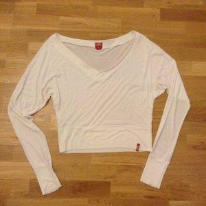 Miss Sixty Shirt Langarmshirt Fledermausarm kurz weiß Gr. S super Zustand !