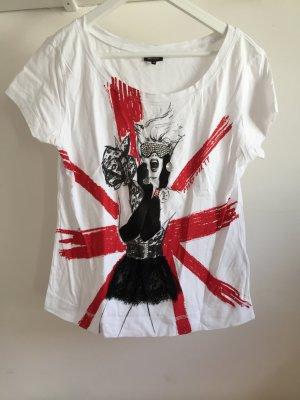 Miss Sixty Shirt mit großem Aufdruck/ Print