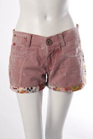Miss Sixty Shorts Totenkopf rosa